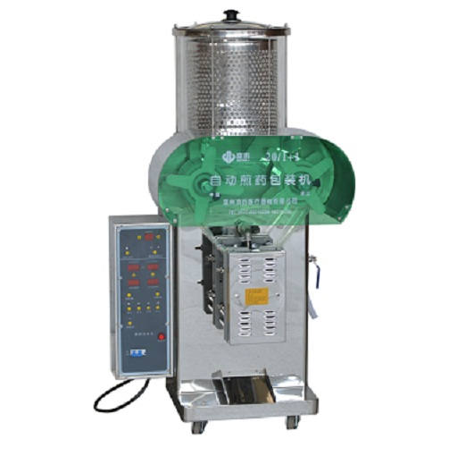 Normal-pressure decocting and packing machine 1+1