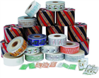 A variety of packing consumables