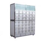 Stainless steel traditional Chinese medicine cabinet D1