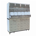 Stainless steel traditional Chinese medicine cabinet D2 type