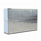 Stainless steel traditional Chinese medicine cabinet D4